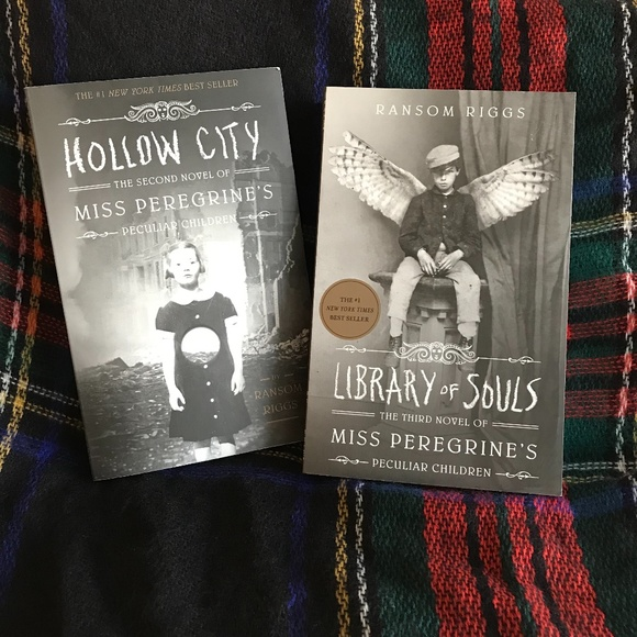 2nd and 3rd book in Miss Peregrine's series